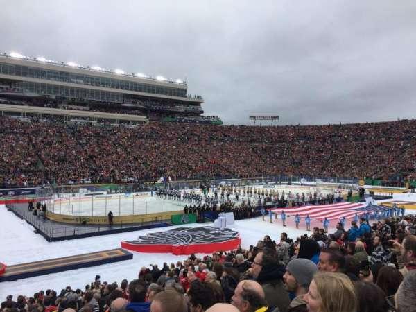 Notre Dame Stadium, secção: 13, fila: 29, lugar: 13