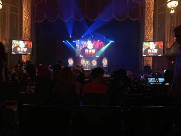 Rialto Square Theatre, secção: 3, fila: U, lugar: 303