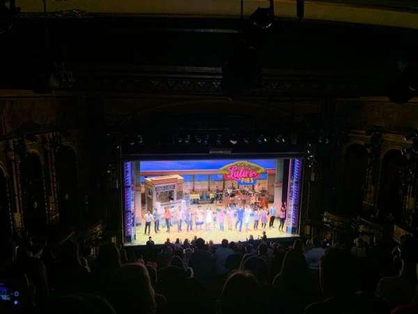 Brooks Atkinson Theatre, secção: Rear Mezzanine LC, fila: L, lugar: 121
