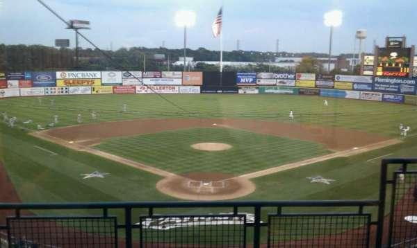 TD Bank Ballpark, secção: Suite 301, fila: B, lugar: 1