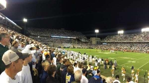 Bobby Dodd Stadium, secção: 103, fila: 8, lugar: 9