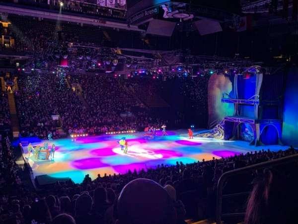 Scotiabank Arena, secção: 121, fila: 23, lugar: 3