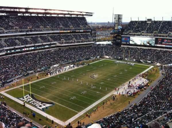 Lincoln Financial Field, secção: 218, fila: 13, lugar: 6
