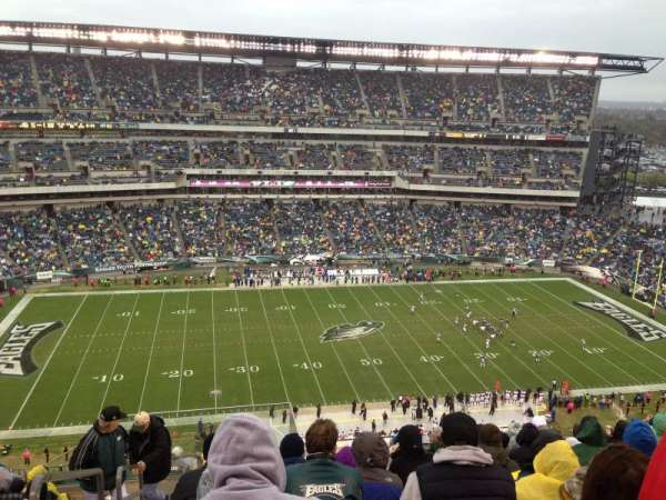 Lincoln Financial Field, secção: 224, fila: 15, lugar: 26