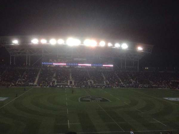 Talen Energy Stadium, secção: 128, fila: BB, lugar: 9