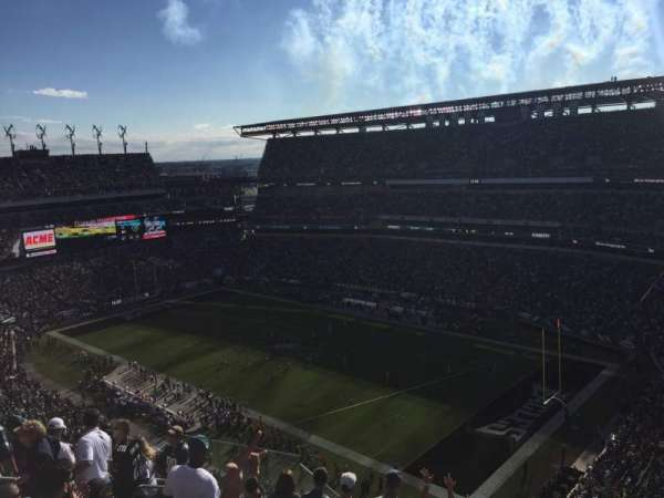 Lincoln Financial Field, secção: 231, fila: 15, lugar: 11