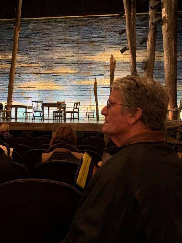 Gerald Schoenfeld Theatre, secção: Orch ctr, fila: G, lugar: 114