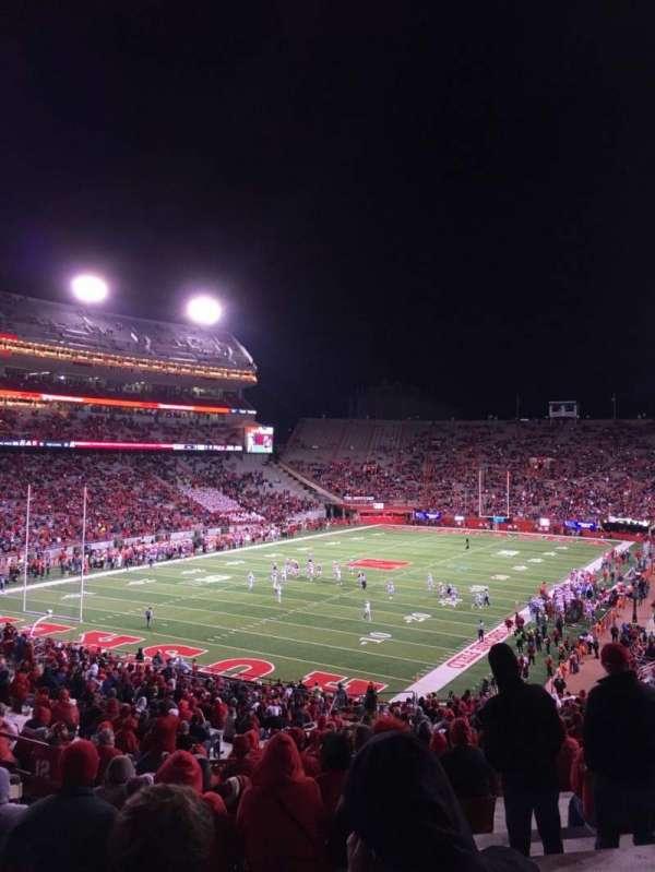 Memorial Stadium (Lincoln), secção: 33, fila: 56, lugar: 17