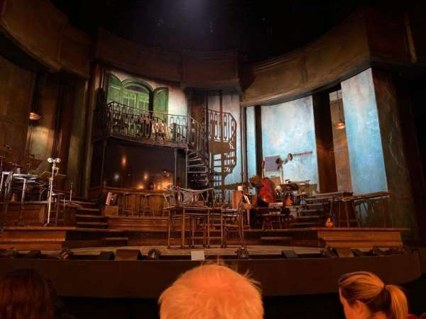 Walter Kerr Theatre, secção: Orchestra C, fila: F, lugar: 110