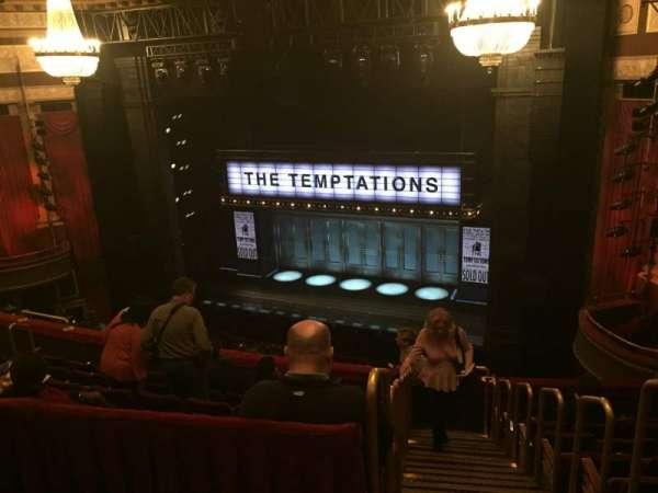 Imperial Theatre, secção: Front Mezzanine, fila: A, lugar: 2