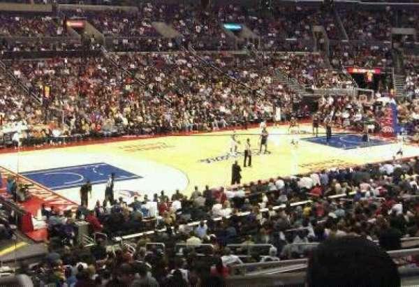 Staples Center, secção: pr8