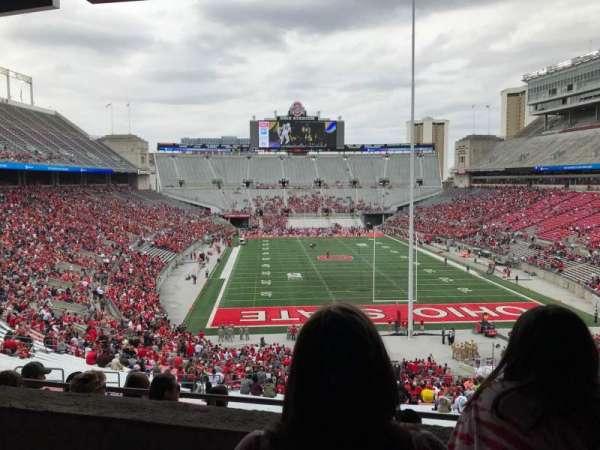 Ohio Stadium, secção: 2b, fila: 3, lugar: 20