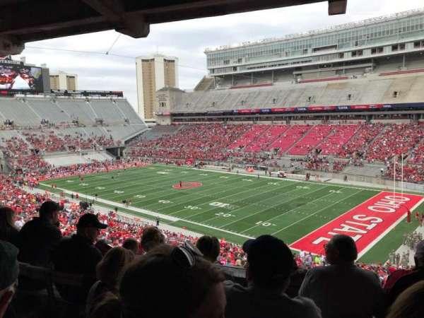 Ohio Stadium, secção: 10b, fila: 5, lugar: 2