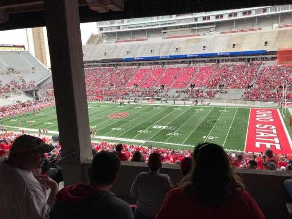 Ohio Stadium, secção: 12b, fila: 6, lugar: 17
