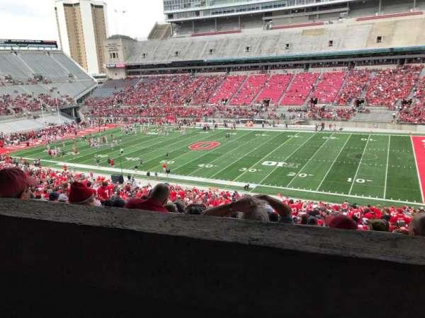 Ohio Stadium, secção: 14b, fila: 2, lugar: 28