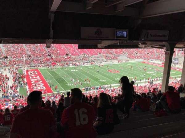 Ohio Stadium, secção: 24b, fila: 15, lugar: 19