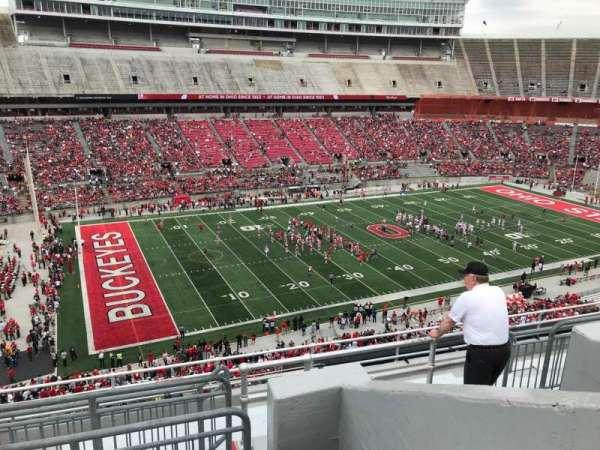 Ohio Stadium, secção: 28c, fila: 11, lugar: 13