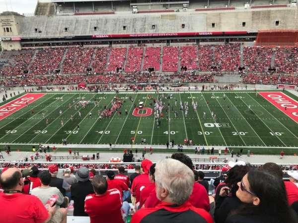 Ohio Stadium, secção: 20c, fila: 10, lugar: 26
