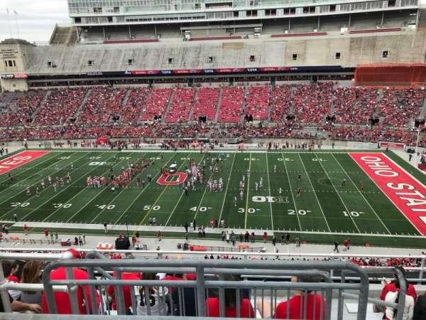 Ohio Stadium, secção: 20c, fila: 9, lugar: 2