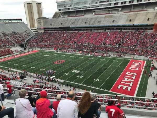 Ohio Stadium, secção: 14c, fila: 9, lugar: 22