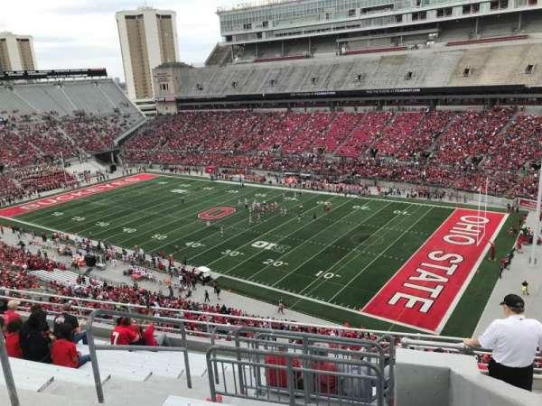 Ohio Stadium, secção: 14c, fila: 12, lugar: 11