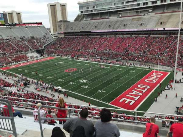 Ohio Stadium, secção: 12c, fila: 9, lugar: 27