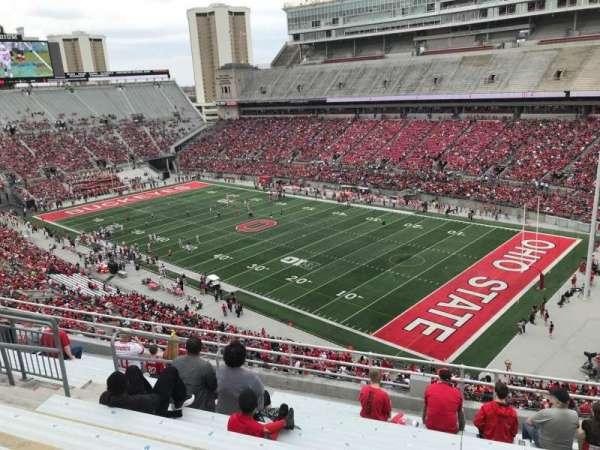 Ohio Stadium, secção: 14c, fila: 11, lugar: 23