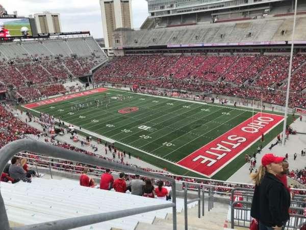 Ohio Stadium, secção: 14c, fila: 13, lugar: 15