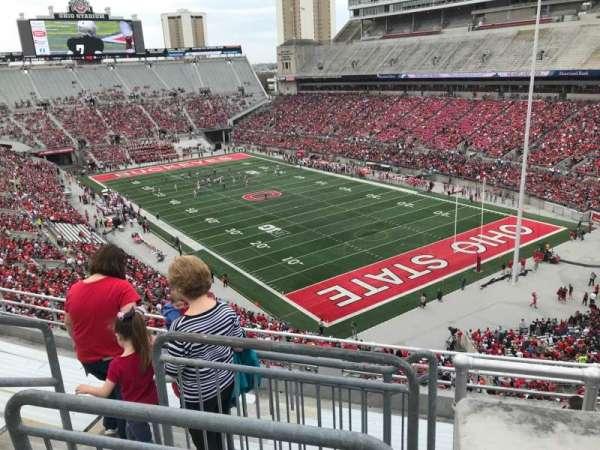 Ohio Stadium, secção: 10c, fila: 9, lugar: 11