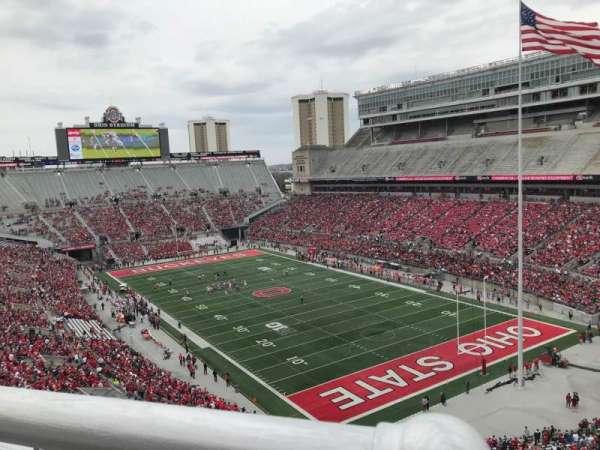 Ohio Stadium, secção: 10c, fila: 11, lugar: 5