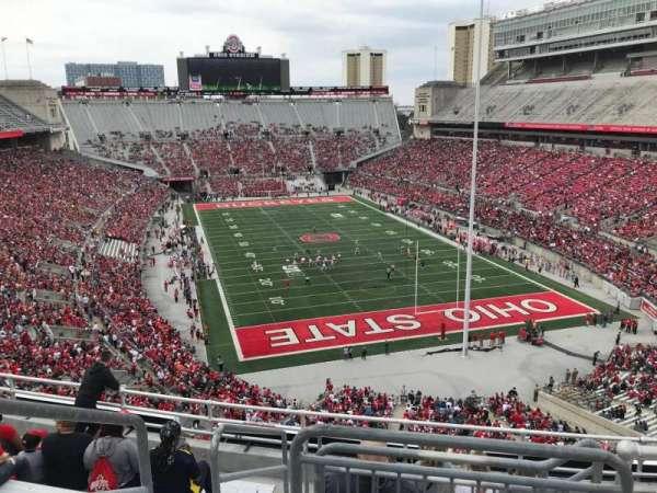 Ohio Stadium, secção: 6c, fila: 9, lugar: 12