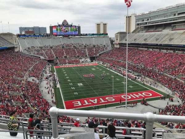 Ohio Stadium, secção: 6c, fila: 12, lugar: 8