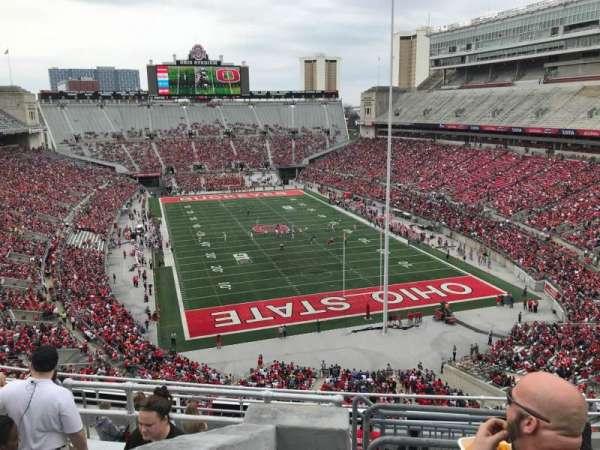 Ohio Stadium, secção: 6c, fila: 11, lugar: 4