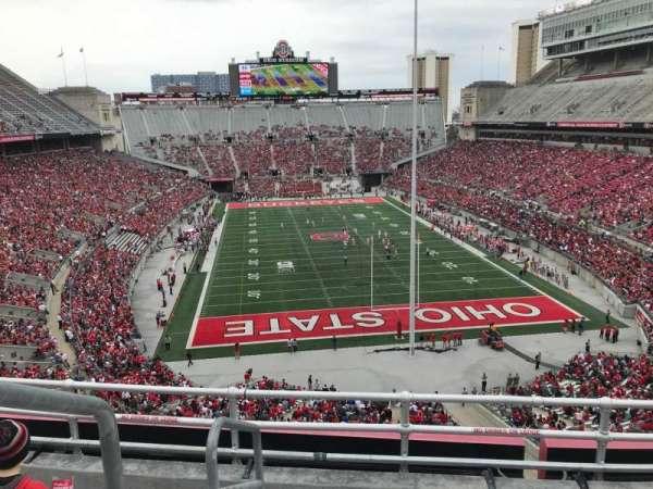 Ohio Stadium, secção: 4c, fila: 5, lugar: 20