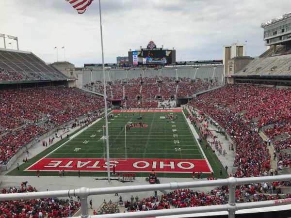 Ohio Stadium, secção: 3c, fila: 3, lugar: 11