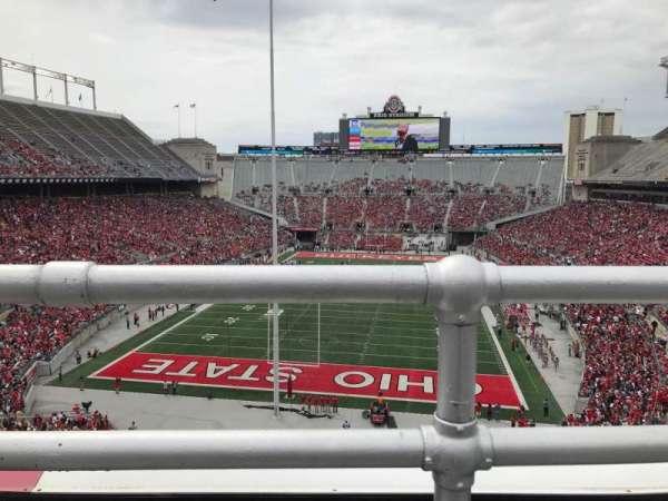 Ohio Stadium, secção: 3c, fila: 1, lugar: 15