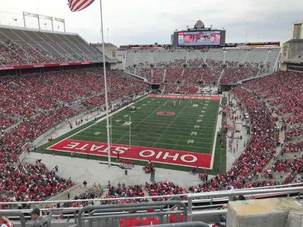 Ohio Stadium, secção: 5c, fila: 10, lugar: 2