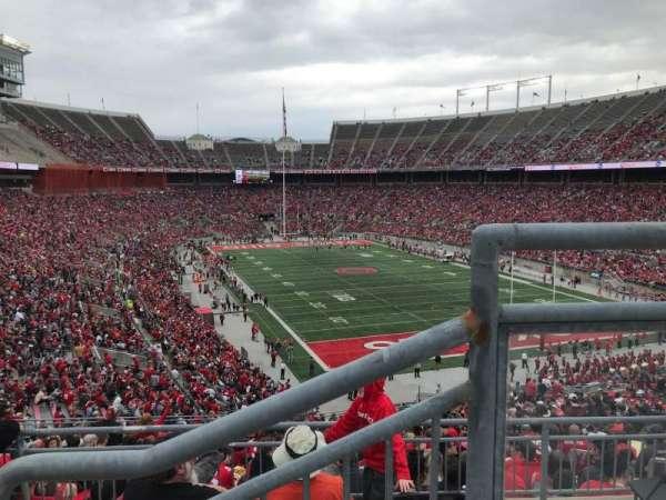 Ohio Stadium, secção: 33b, fila: 2, lugar: 1