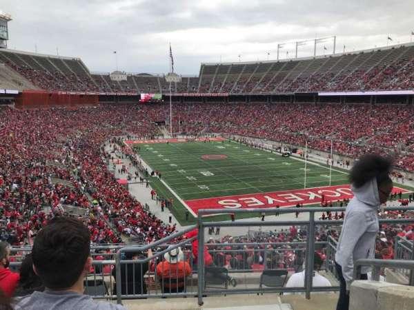 Ohio Stadium, secção: 33b, fila: 6, lugar: 1