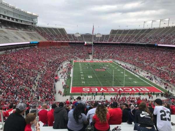 Ohio Stadium, secção: 37b, fila: 30, lugar: 31