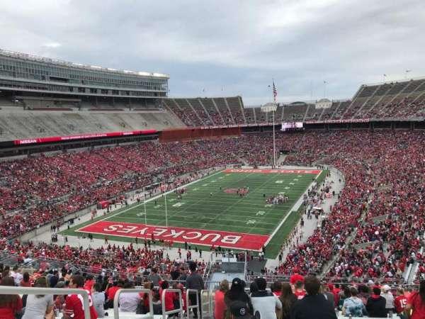 Ohio Stadium, secção: 34b, fila: 28, lugar: 32