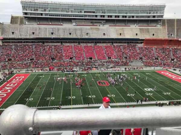 Ohio Stadium, secção: 24c, fila: 11, lugar: 10