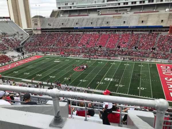Ohio Stadium, secção: 18c, fila: 12, lugar: 6