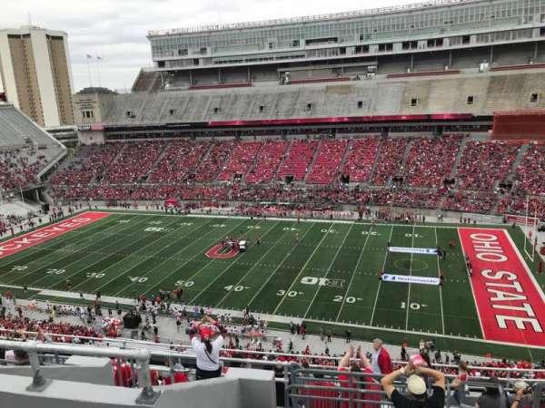 Ohio Stadium, secção: 18c, fila: 14, lugar: 2
