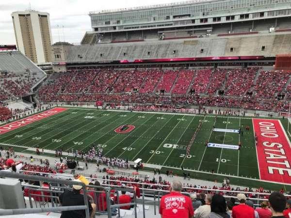 Ohio Stadium, secção: 16C, fila: 13, lugar: 30