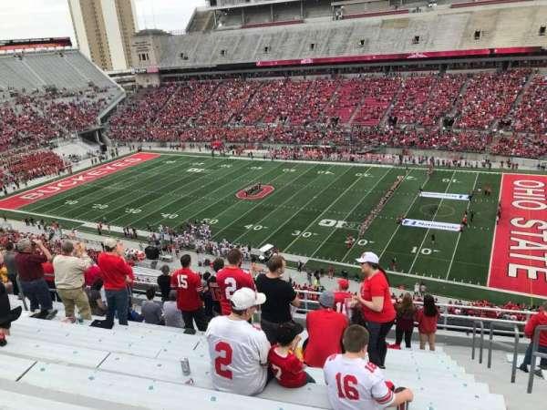 Ohio Stadium, secção: 16c, fila: 13, lugar: 17