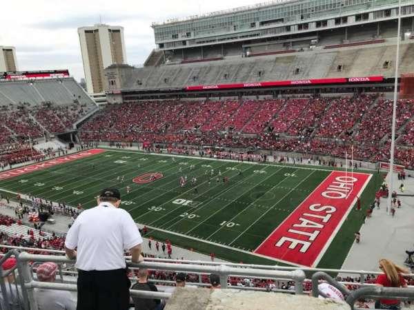 Ohio Stadium, secção: 14c, fila: 9, lugar: 5