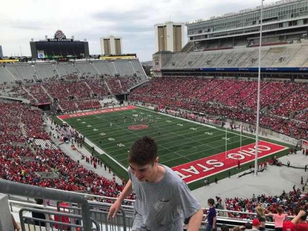 Ohio Stadium, secção: 8c, fila: 11, lugar: 30