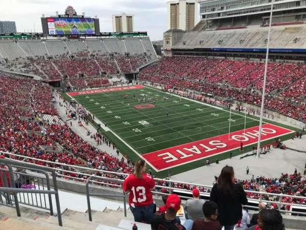Ohio Stadium, secção: 8c, fila: 10, lugar: 26