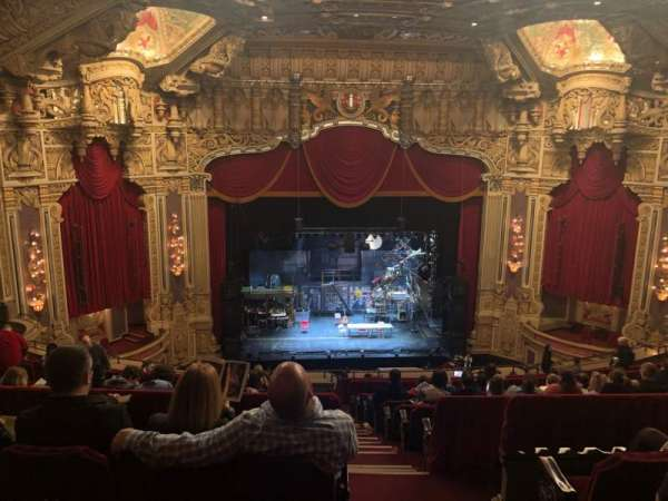Nederlander Theatre (Chicago), secção: Balcony LC, fila: P, lugar: 321